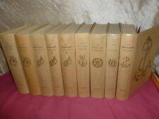 9 vols COLLECTION D'ART LUCIEN MAZENOT/PEINTRES MUSICIENS ECRIVAINS CELEBRES...