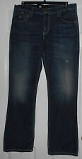 Rock & Republic Henlee Bootcut Icon Distressed Denim Jeans Size 36 x 32 NWT