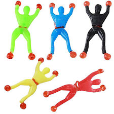 6X Window Crawler Sticky Men Wall Walker Toy Pinata Loot Party Bag Kids Fun Gift