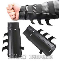 BRAND NEW 2 PCS Dark Knight Batman Razor Spikes Arm Gauntlet's