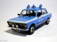 FIAT 125 P MILICJA POLISH POLICE ( 1984 ) - 1/43 - IXO/IST -- NEW
