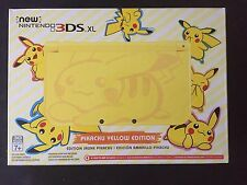 new Nintendo 3DS XL Pikachu Yellow Edition - In Hand Ready to Ship