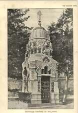 1900 mausolée cimitiere du sud paris leon lautier