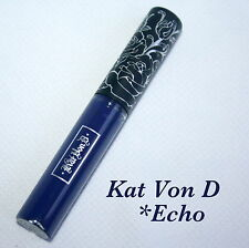 Genuine KAT VON D Everlasting Liquid Lipstick in Echo 3ml Matte Navy Blue NEW