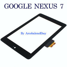 Kit VETRO+ TOUCH SCREEN per ASUS GOOGLE NEXUS 7 Vetrino Display Esterno Nero 7""