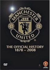 MANCHESTER UNITED--The Official History 1878--2008--- (Dvd)