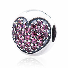 New!! Authentic Pandora Pink Love of My Life Clip # 791053CZS