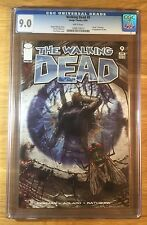 Walking Dead 9, CGC 9.0, graded VF/NM, death of Donna, 1st appearance of Otis