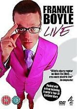 FRANKIE BOYLE LIVE HACKNEY EMPIRE LONDON CHANNEL4 UK 2008 REGION 2 DVD EXCELLENT