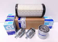 Filter Kit for Kubota TG1860  w/ D722 engine - Air / Oil / 2x inline Fuel