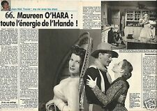 Coupure de presse Clipping 1990 Maureen O'Hara  (4 pages)
