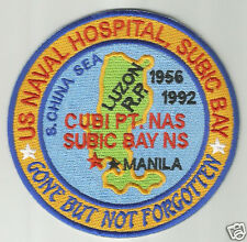 US NAVAL HOSPITAL SUBIC BAY, PHILIPPINES, PATCH, GONE BUT NOT FORGOTTEN        Y