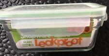 Snapware Glasslock 3.3C Leakproof Food Storage/Heating-Microwave/Reg. Oven