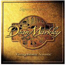 3 sets Dean Markley Vintage Bronze 2202 Light 12 String Guitar Strings