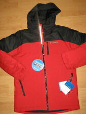 NEW boys winter jacket waterproof Columbia Phantom Slope outerwear red 14-16 wow