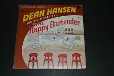 Dean Hansen and His Accordions - The Happy Bartender - Czech - FAST SHIPPING!!