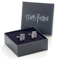 Harry Potter: Knight Bus Silver Plated Cufflink Set - New & Official In Box