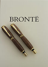 The Brontë Sisters Antique Authenticated  Pen SET