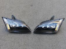 1Pair Black Replacement Headlights for Ford Focus 2005-2007