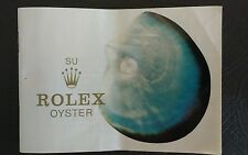ROLEX OYSTER genuine booklet  579.09 Manual Brochure SPANISH VERSION Broschüre 4