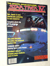 STAR TREK IV : THE VOYAGE HOME , The Official Movie Magazine  , NEW