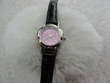 Barbie Girls or Ladies Quartz Watch with a Black Band