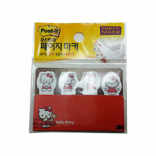 3M Hello Kitty Post-It Page Marker Memo Cute Super Sticky Note/80Sheets 670-4KR