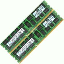 16gb (2x8gb) ddr3-1333 pc3-10600r registrato server HP P/N 500205-171 MEMORIA RAM
