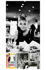 Audrey Hepburn 3 Individual Posters! Breakfast at Tiffany's Window Iconic Film