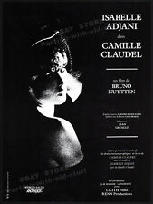 CAMILLE CLAUDEL__Orig. 1985 Cannes Trade Print AD promo_poster__ISABELLE ADJANI