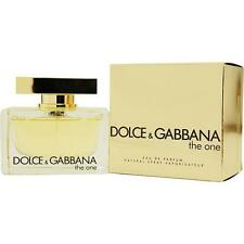 DOLCE & GABBANA THE ONE EAU DE PARFUM EDP SPRAY 75 ML / 2.5 FL.OZ