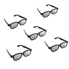 5 Passive 3D Glasses Polarized Lens For Panasonic Sony Samsung LG Passive 3D TV