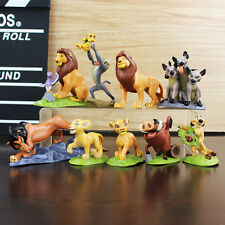 9pcs The Lion King Cake Topper Action Figures Doll Kids Boy Girl Toy Gift Simba