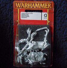 1994 caos Dragon ogro M2 Games Workshop Citadel Warhammer army ogor caballería MIB