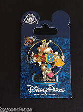 DISNEY Parks 2016 SORCERER MICKEY MOUSE & Friends TRADING PIN Spinner NEW w/CARD