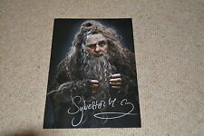 SYLVESTER MCCOY signed Autogramm 20x25 cm In Person DER HOBBIT Radagast