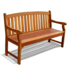 Vifah Outdoor Wood Bench V275 Bench NEW