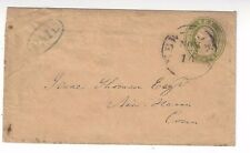 U18 New York 10c Nesbitt PSE California Incoming, Gregory's Express PAID in Oval