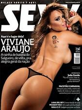 SEXY MAGAZINE BRAZIL # 386 - VIVIANE ARAUJO - FEB 2012 - SEALED MINT - playboy