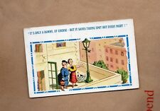 Comic Card by inter art Dog and lamppost posted 1952  xc1