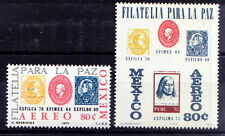 Mexico 1971 MNH 2v, Stamps on Stamps, -