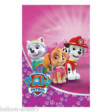 8 Paw Patrol Pink Puppy Pets Birthday Party Gift Treat Plastic Favour Loot Bags