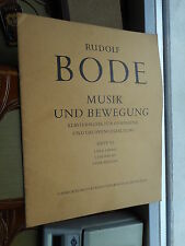 Rudolf Bode: Musik und Bewegung Heft VI Klaviermusik für Gymnastik