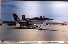 VFA-115 Eagles History, 3 kits- F/A-18C Hornet & 18E Super Hornet, HASEGAWA 1/72
