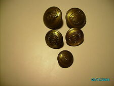 LATVIA PRE WW II AND WW II GERMAN UNITS UNIFORM BUTTONS