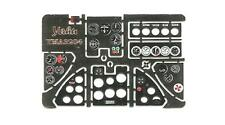 Iar-81 photoetched, threedimensional instrument panels à azur #yml 3204 yahu