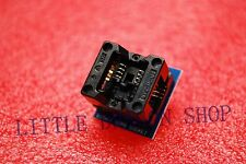SOP8 turn DIP8 SOIC8 to DIP8 IC socket Programmer adapter 150mil A063