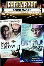 Red Carpet Double Feature (Man Friday / Raise the Titanic DVD) LIKE NEW!!