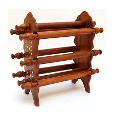 Wooden Bangle Stand 6 Rod + Free 2 Bangles