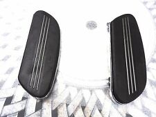 HARLEY-DAVIDSON TAKE OFF RIDER RUBBER FOOTBOARD PADS AND FLOOR PANS